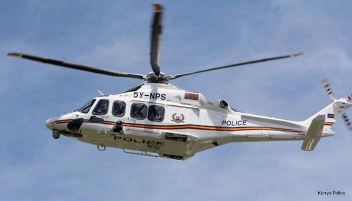 AW139 in Kenya Police
