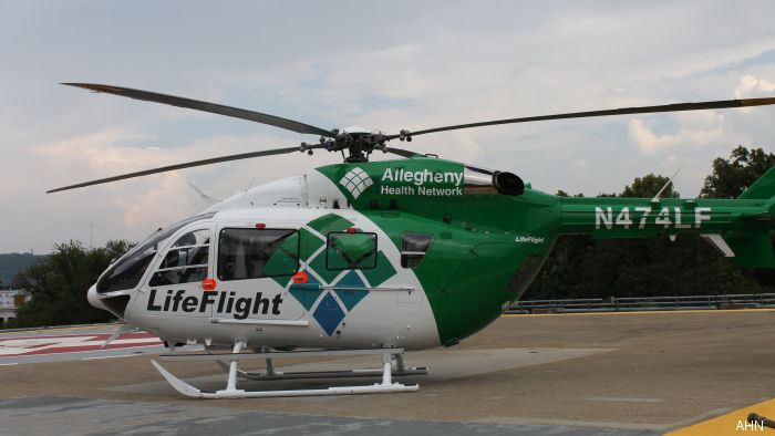 lifeflight allegheny health system