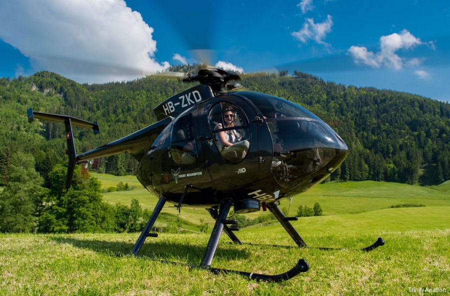 Fuchs Helikopter MD500