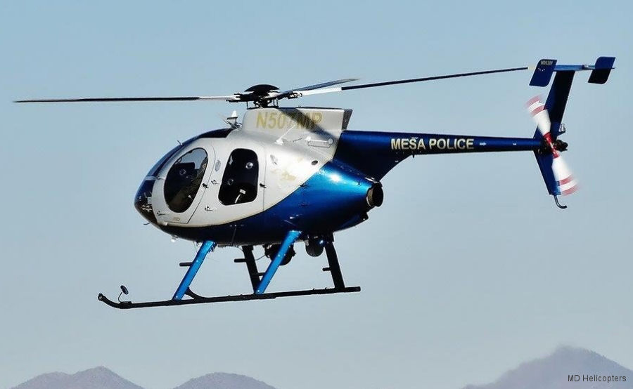 mesa police md500