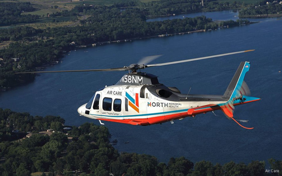 State of Minnesota AW109S Grand