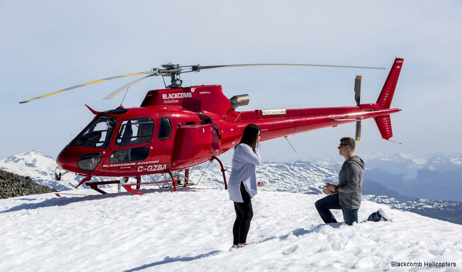 Blackcomb Helicopters AS350 Ecureuil