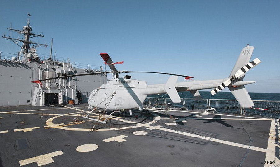 US Navy MQ-8C Fire Scout