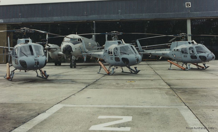 Fleet Air Arm (RAN) AS350 Ecureuil