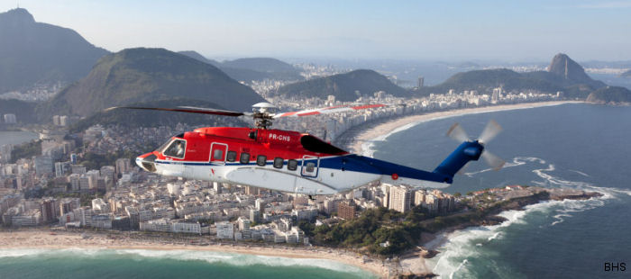 BHS Taxi Aereo s-92 Helibus