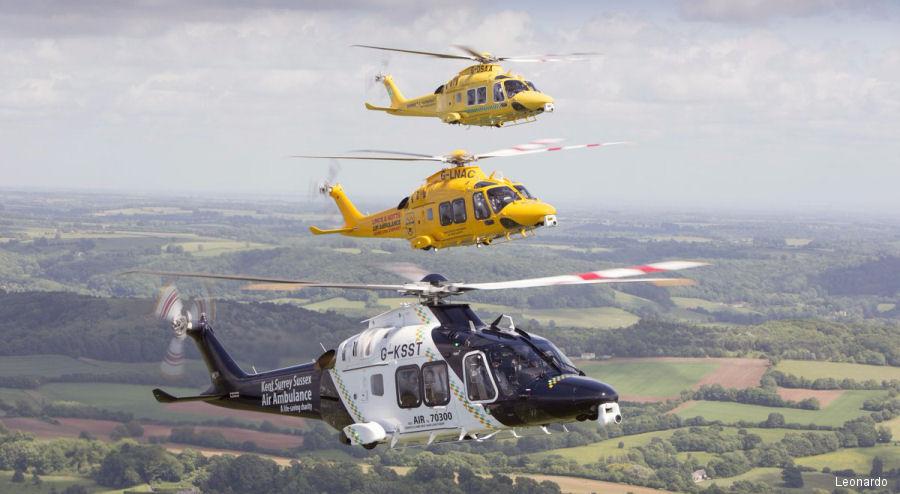 UK Air Ambulances AW169