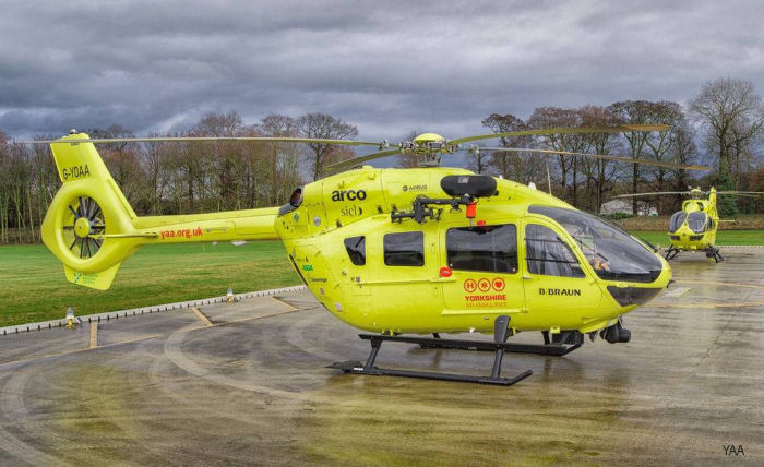 yorkshire air ambulance h145