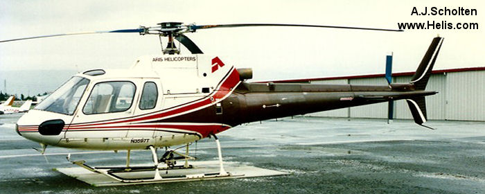 Aerospatiale AS350D Astar c/n 1126