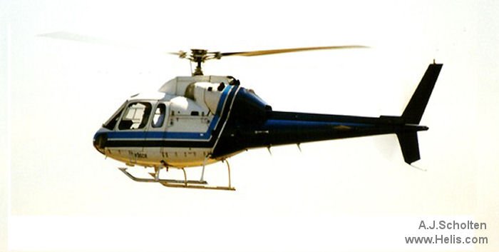 Helicopter Aerospatiale AS355E TwinStar Serial 5054 Register N10CE N35CR. Built 1981. Aircraft history and location