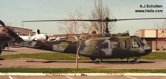 Bell HH-1H Iroquois c/n 17111