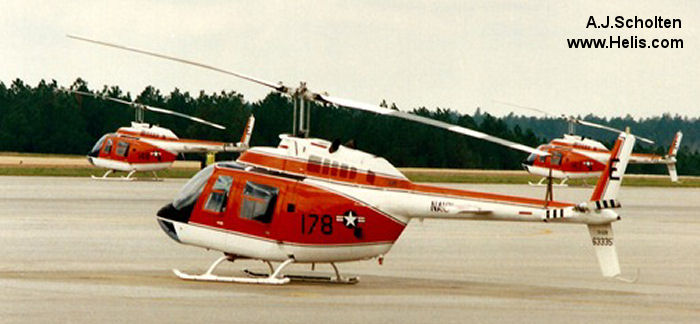 Bell TH-57B Sea Ranger c/n 3905