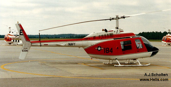Bell TH-57B Sea Ranger c/n 3911