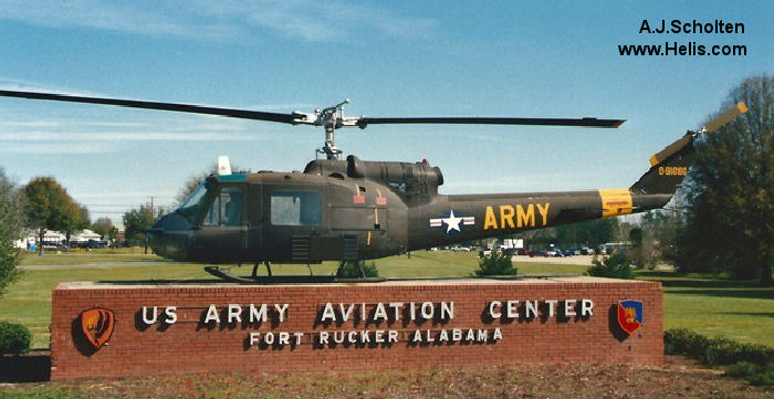 Bell UH-1A Iroquois c/n 145