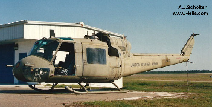 Bell UH-1B Iroquois c/n 218