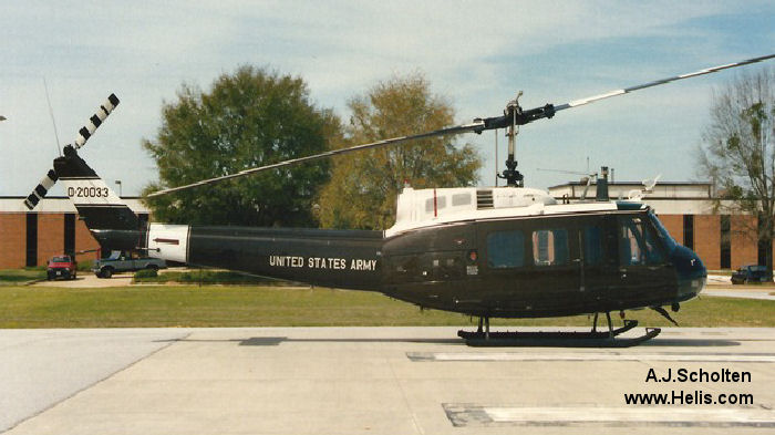 Bell UH-1H Iroquois c/n 12857