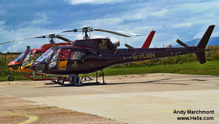 Aerospatiale AS350B1 Ecureuil c/n 2156