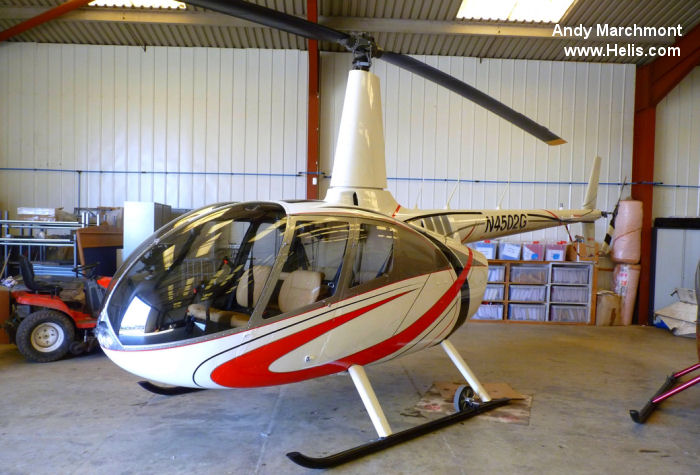 Helicopter Robinson R66 Turbine Serial 0059 Register N4502G. Built 2011. Aircraft history and location
