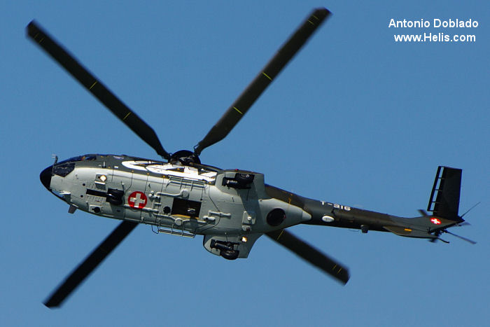 Aerospatiale AS332M1 Super Puma c/n 2334