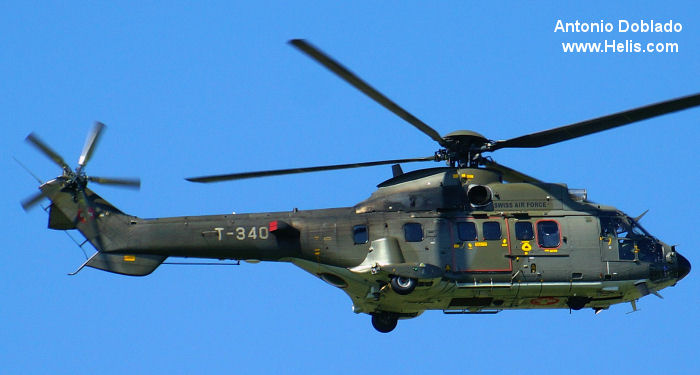 Eurocopter AS532UL Cougar c/n 2554