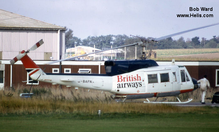 British Airways Helicopters 212