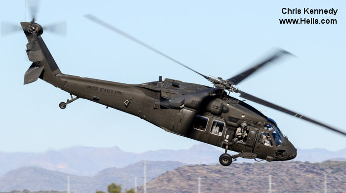 Sikorsky UH-60L Black Hawk c/n unknown