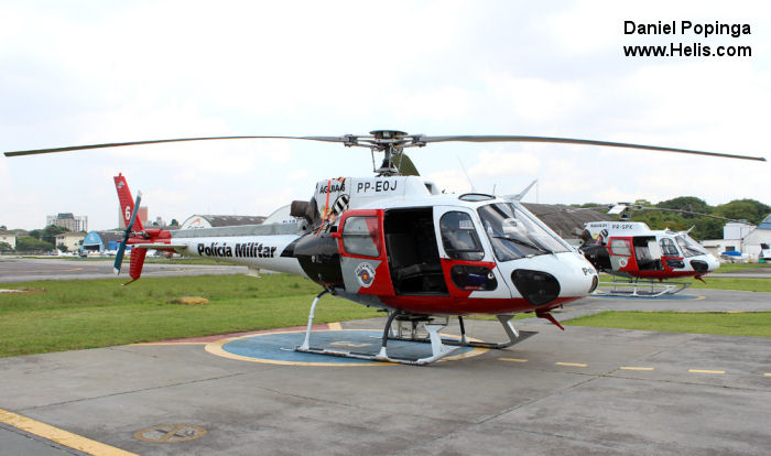 Eurocopter HB350BA Esquilo c/n 2697