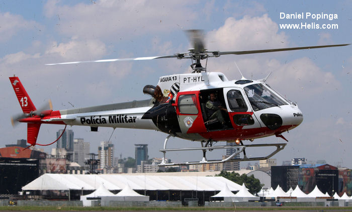 Eurocopter HB350BA Esquilo c/n 2682