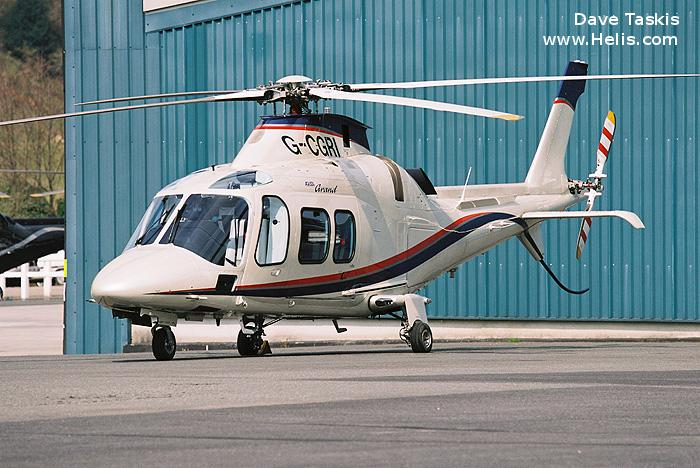 Helicopter AgustaWestland AW109S Grand Serial 22003 Register N28NM RP-C723 G-CGRI I-RAID used by North Memorial Health ,AgustaWestland Italy. Built 2005. Aircraft history and location