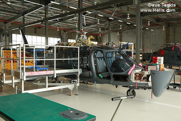 Helicopter AgustaWestland A109LUH Serial 13784 Register NZ3403 used by Royal New Zealand Air Force. Aircraft history