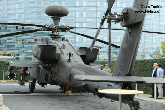Helicopter Boeing AH-64D Apache Serial PVD581 Register 09-5581 used by US Army Aviation. Aircraft history