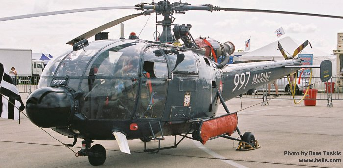 alouette iii in a u00e9ronautique navale