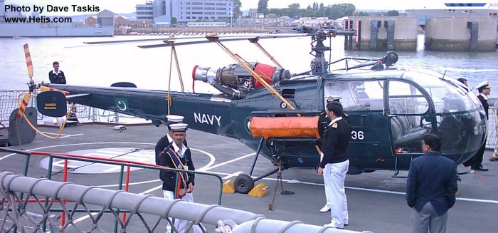 pakistan naval air arm alouette iii