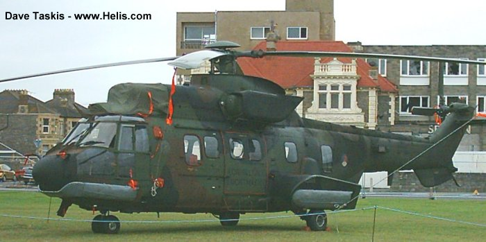 Eurocopter AS532U2 Cougar  c/n 2447