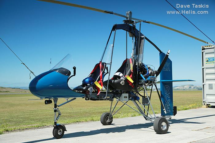 Helicopter Rotor Flight Dynamics Dominator Tandem Serial 010 Register ZK-RCE. Aircraft history and location