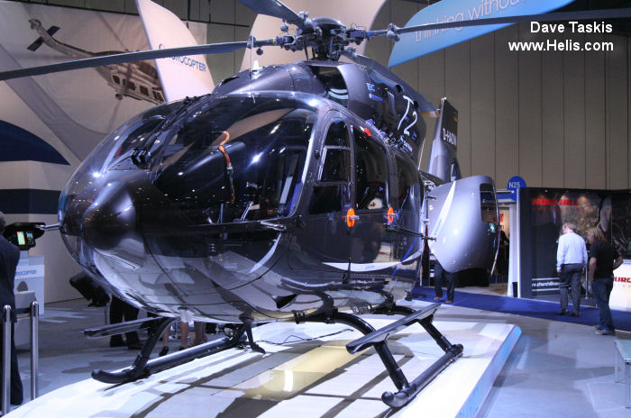 Helicopter Airbus Helicopters H145 / EC145T2 Serial 20002 Register D-HADW used by Airbus Helicopters Deutschland GmbH (Airbus Helicopters Germany) Eurocopter Deutschland GmbH (Eurocopter Germany). Aircraft history and location