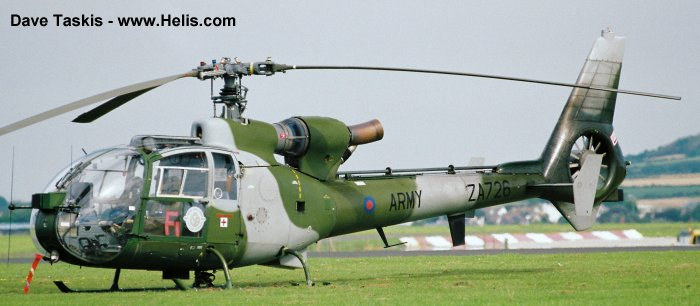 British Army Gazelle