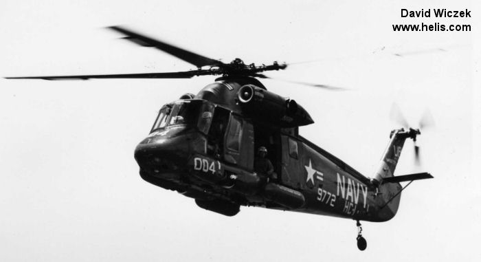 Helicopter Kaman UH-2A Serial 74 Register 149772 used by US Navy (United States Naval Aviation). Aircraft history