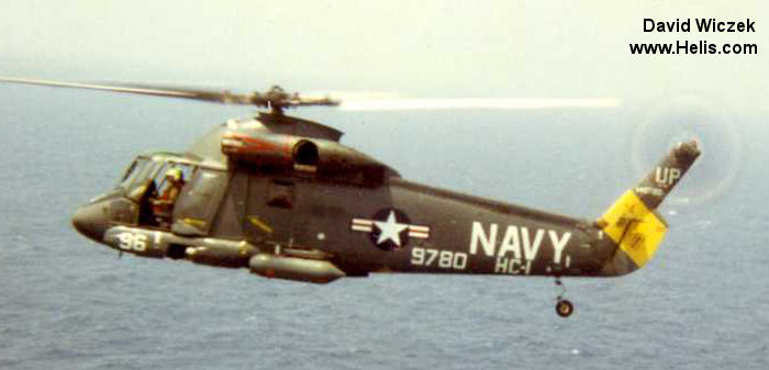 Helicopter Kaman UH-2A Serial 82 Register 149780 used by US Navy (United States Naval Aviation). Aircraft history
