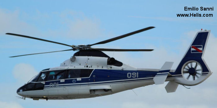 Eurocopter AS365N2 Dauphin 2 c/n 6532
