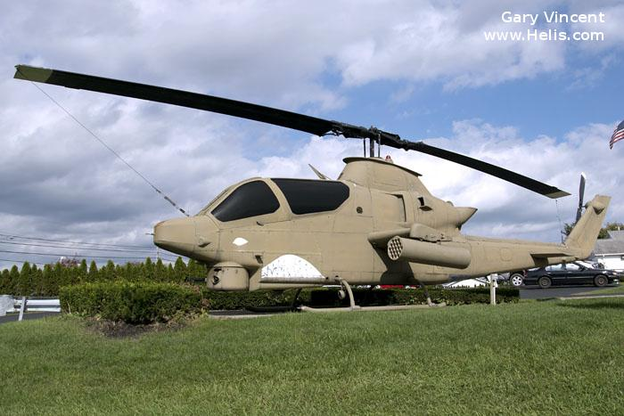 Helicopter Bell AH-1G Cobra Serial 20620 Register 68-15086 used by US Army Aviation Army. Aircraft history and location