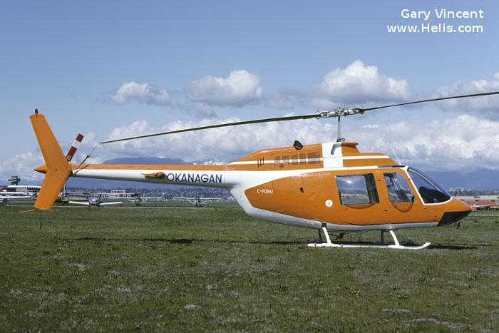 Bell 206A c/n 41