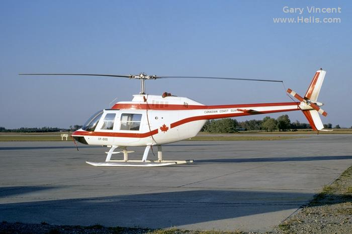 Bell 206A c/n 379