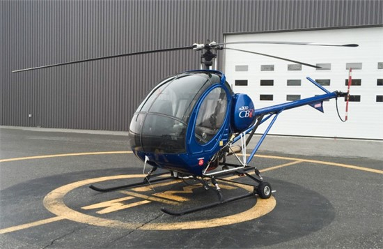 Helicopter Schweizer 300CBi (269C-1) Serial 0288 Register C-FHCM N86G. Built 2007. Aircraft history and location