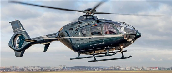 Helicopter Eurocopter EC135T2+ Serial 0581 Register F-HFOM. Built 2007. Aircraft history and location