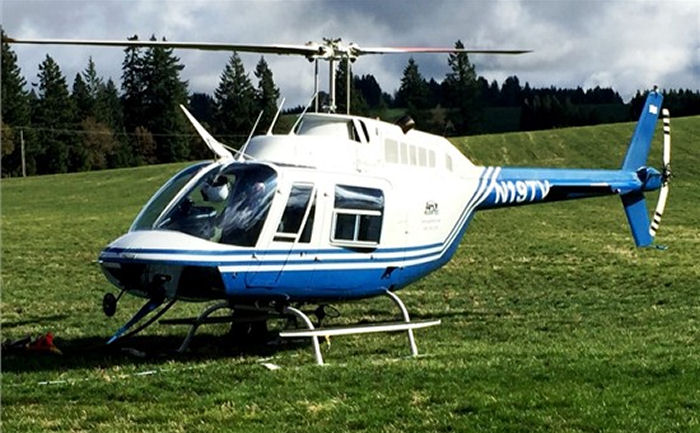 Helicopter Bell 206B-3 Jet Ranger Serial 2716 Register N19TV N655WW N79HM used by TVA (Tennessee Valley Authority). Built 1979. Aircraft history and location