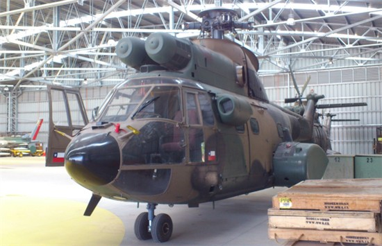 Helicopter Aerospatiale AS332B Super Puma Serial 2009 Register H265 used by Ejercito de Chile (Chilean Army). Aircraft history and location
