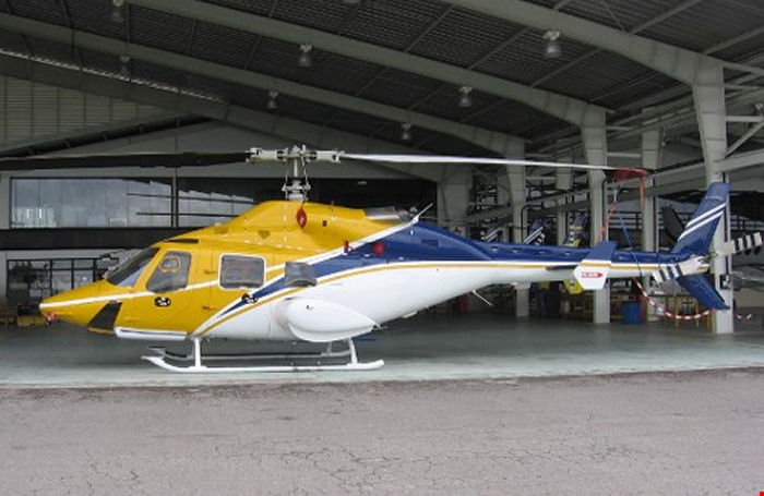 Helicopter Bell 230 Serial 23037 Register YV151T N911RC N39142 C-GADP used by Bell Helicopter Canada. Built 1995. Aircraft history and location