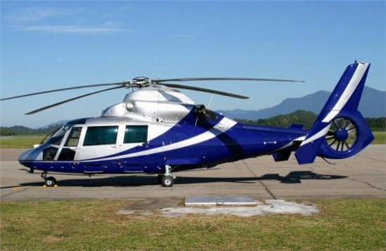 Helicopter Eurocopter AS365N3 Dauphin 2 Serial 6667 Register PP-MLG. Built 2004. Aircraft history and location