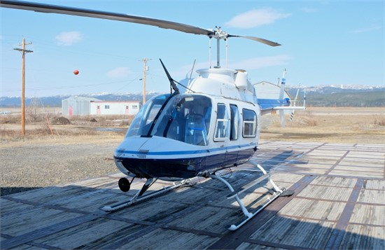 Helicopter Bell 206L-4 Long Ranger Serial 52226 Register N217MH C-GSHQ XC-LFD N21200 used by Meridian Helicopters ,Great Slave Helicopters GSH ,Gobierno de Mexico (Mexico Government) ,Bell Helicopter. Built 1999. Aircraft history and location
