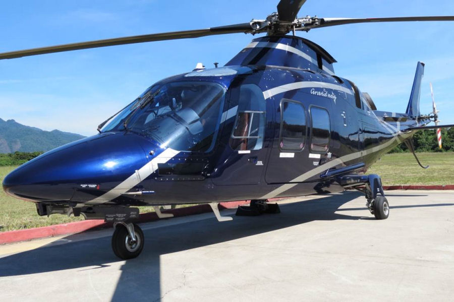 Helicopter AgustaWestland AW109SP GrandNew Serial 22259 Register N109GN PP-DSA. Built 2012. Aircraft history
